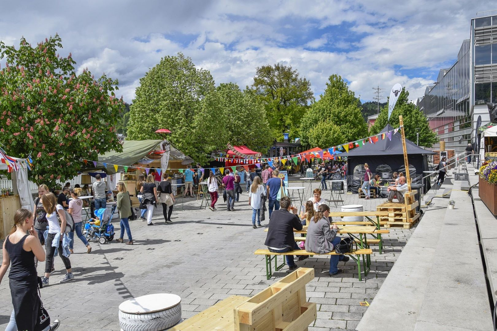 Kulinaria Genussfestival Street Food Markt