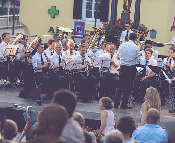 Open-air concert by the Kufstein town band